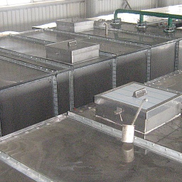 140 cbm(2х70 cbm), Wastewater treatment Plant